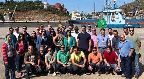 Alunos do MBA em Logística visitam Cais do Porto de Vitória