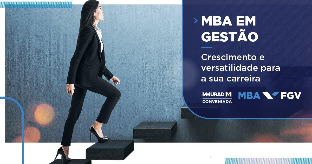 MBA em Gestão: crescimento e versatilidade para a sua carreira
