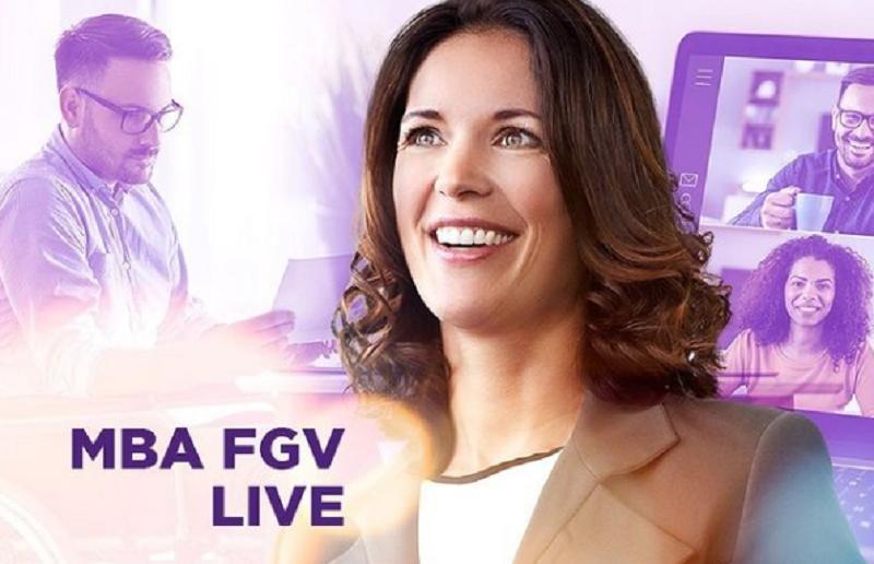MBA LIVE: saiba mais sobre o formato oferecido pela FGV